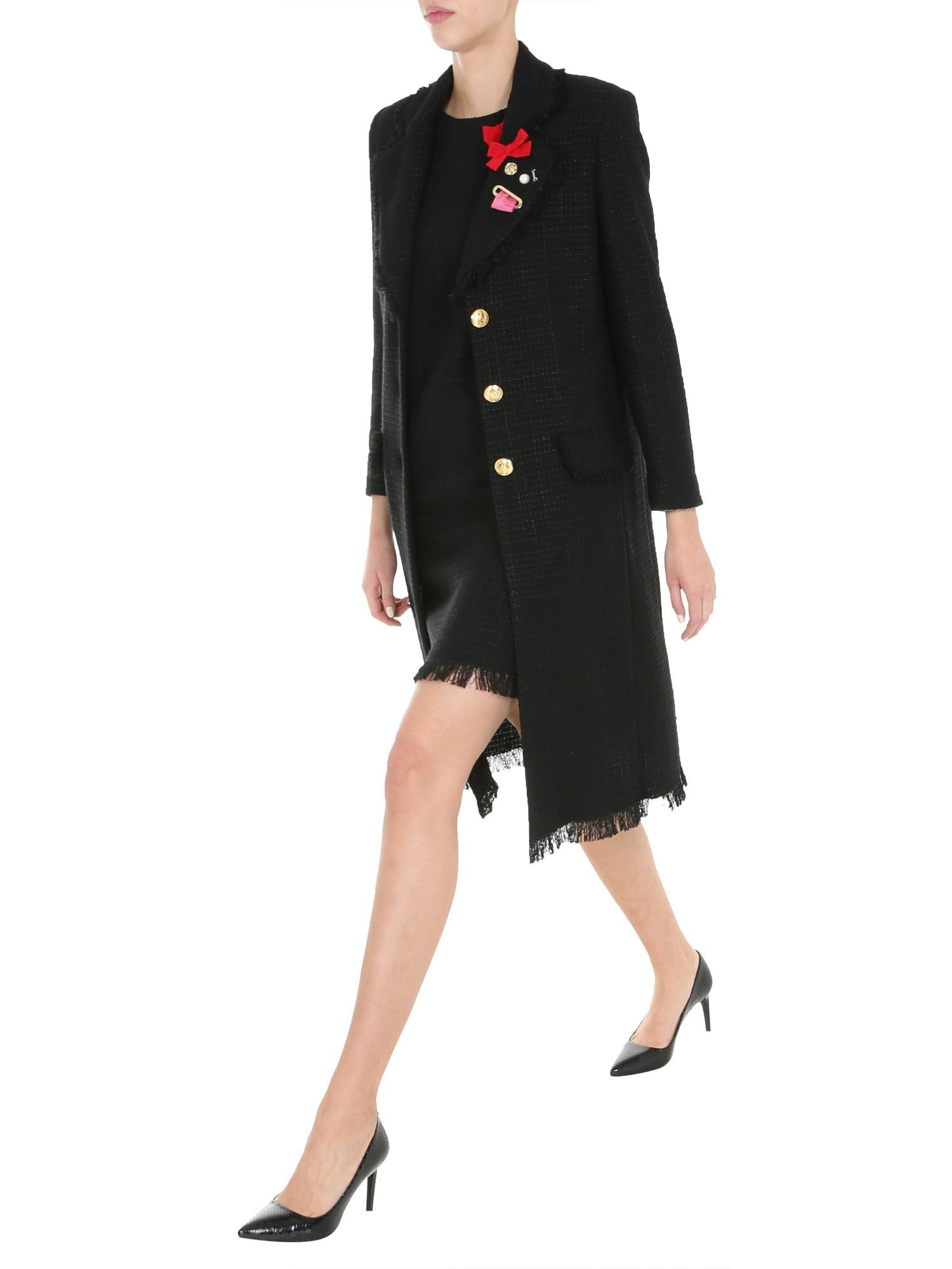 boutique moschino mat coat