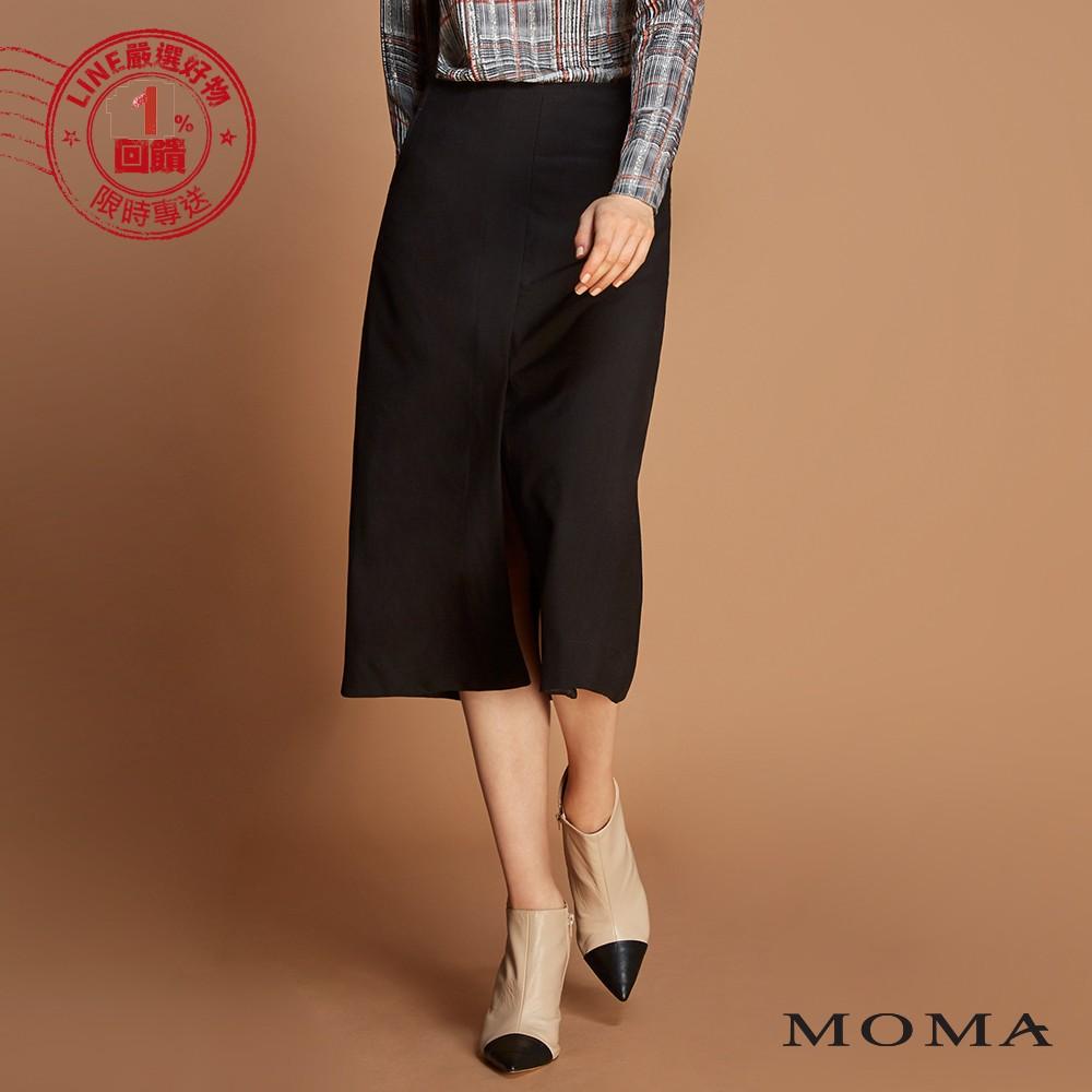 MOMA(92S012)開叉寬版長裙