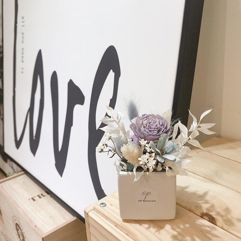 韓式花藝質感香氛乾燥小桌花