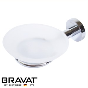 BRAVAT 貝朗 融宜不鏽鋼肥皂盤 D738C