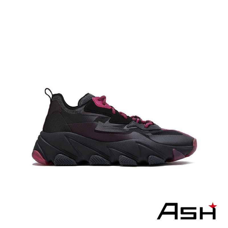 ASH ECLIPSE 撞色厚底增高運動鞋 黑色