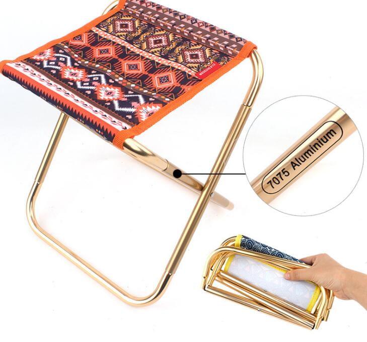 戶外折疊椅鋁合金便攜小凳子