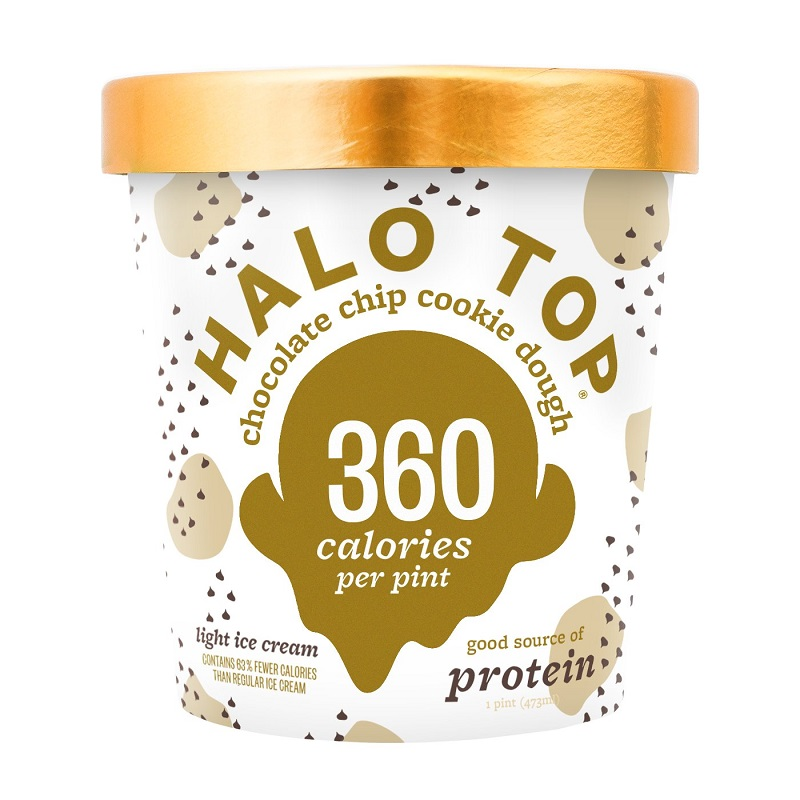 Halo Top 巧克力餅乾碎片冰淇淋-473ml