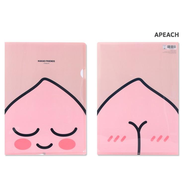 【Kakao Friends】韓國 L夾-Apeach大頭