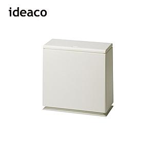 【日本ideaco】方形廚房垃圾桶-8.5L沙白