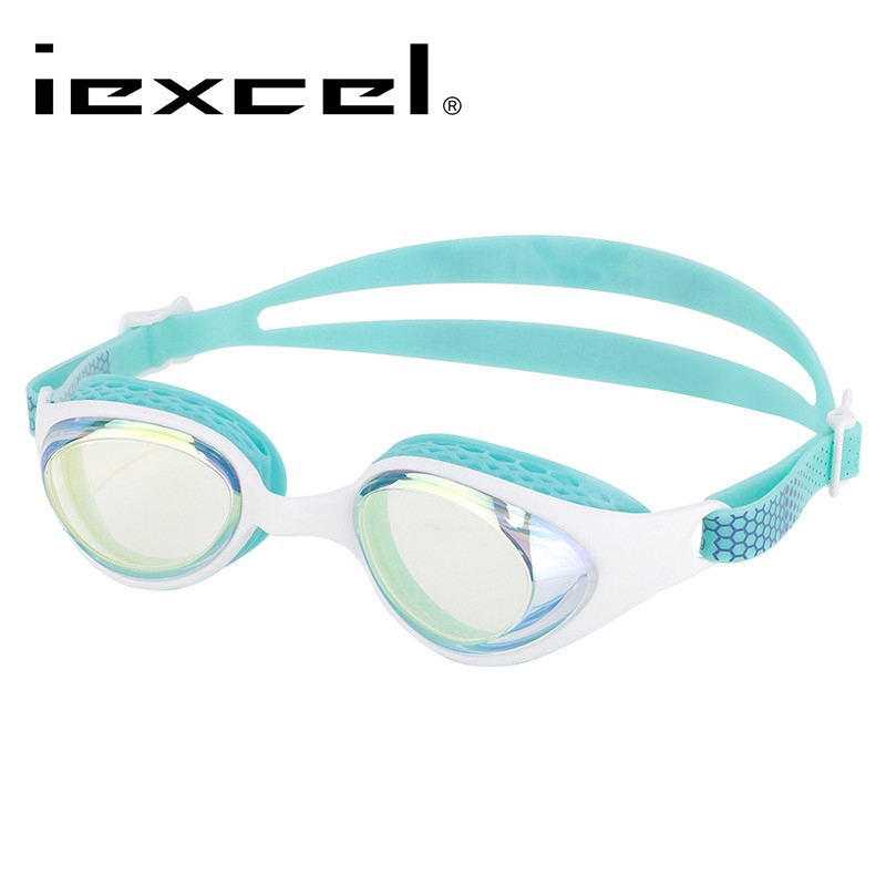 iexcel 蜂巢式電鍍專業光學度數泳鏡 VX-961 廠商直送 現貨