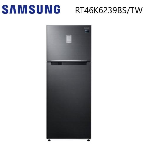 (私訊再折) SAMSUNG 三星 456公升 雙循環雙門電冰箱 RT46K6239BS/TW