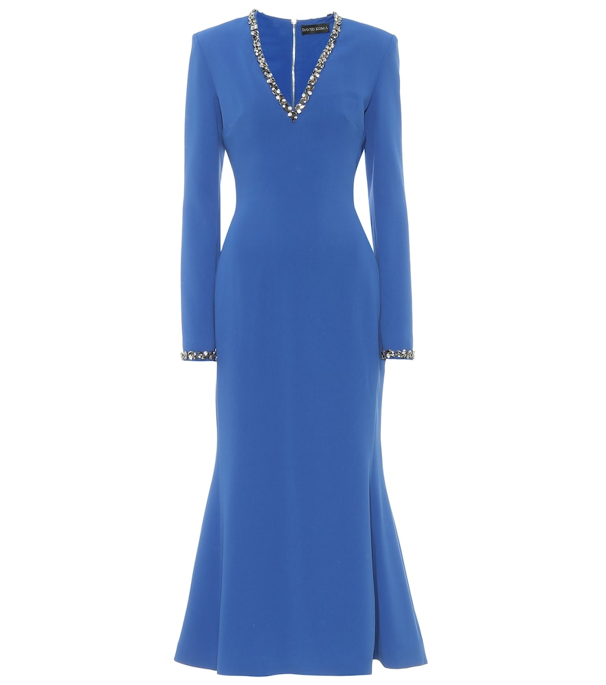 Exclusive to Mytheresa - Embellished cady dress