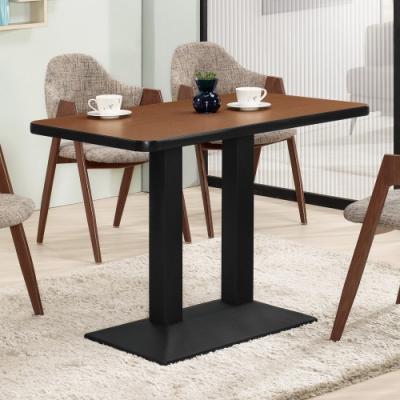 Boden-貝羅4尺工業風長方形餐桌/商業洽談桌(兩色可選)-120x70x75cm