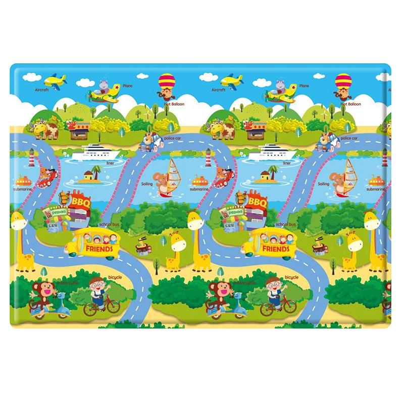 PVC 兒童遊戲毯-汽車樂園