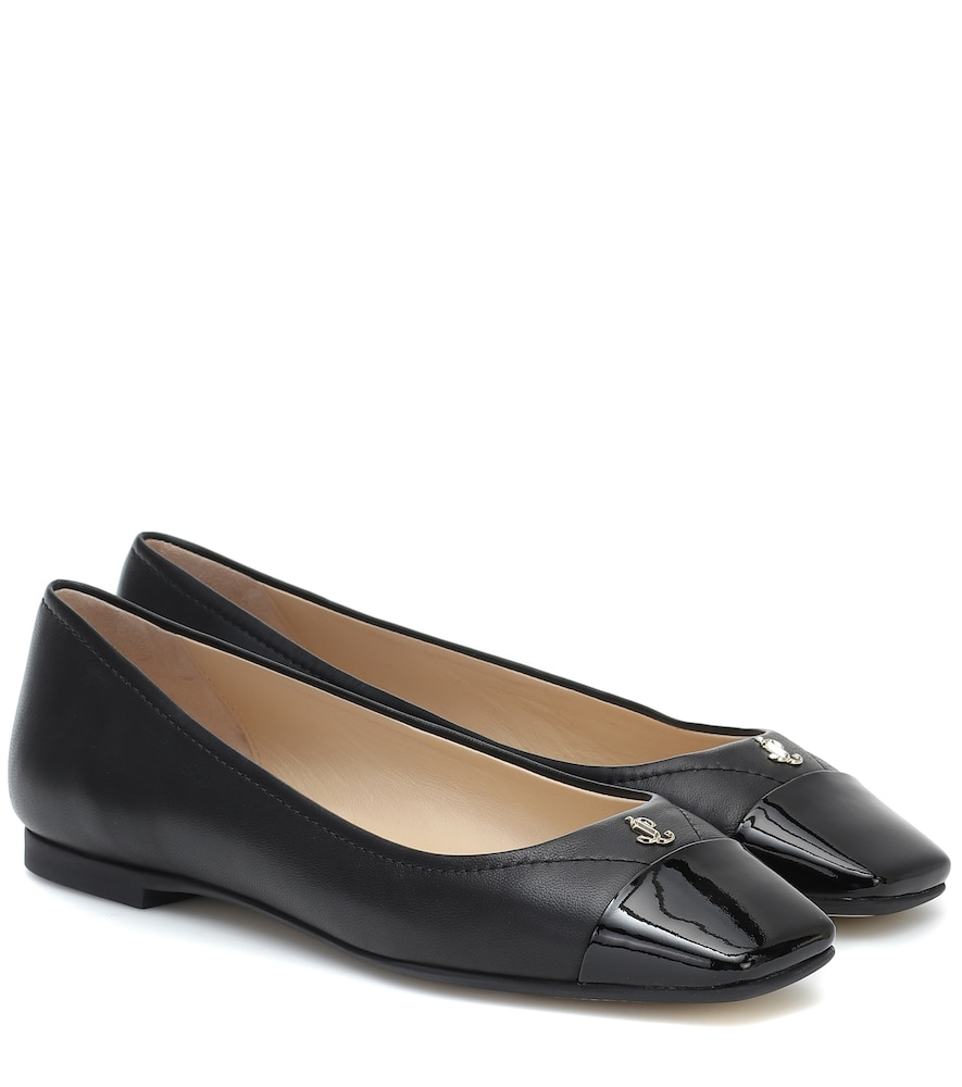 Gisela leather ballet flats