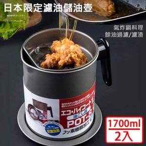 【媽媽咪呀】大容量濾渣濾油壺-日本限定304不鏽鋼濾網款(氣炸鍋配件22入