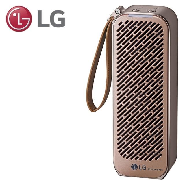LG 樂金  PuriCare Mini 隨身淨 空氣清淨機 AP151MGA1 玫瑰金