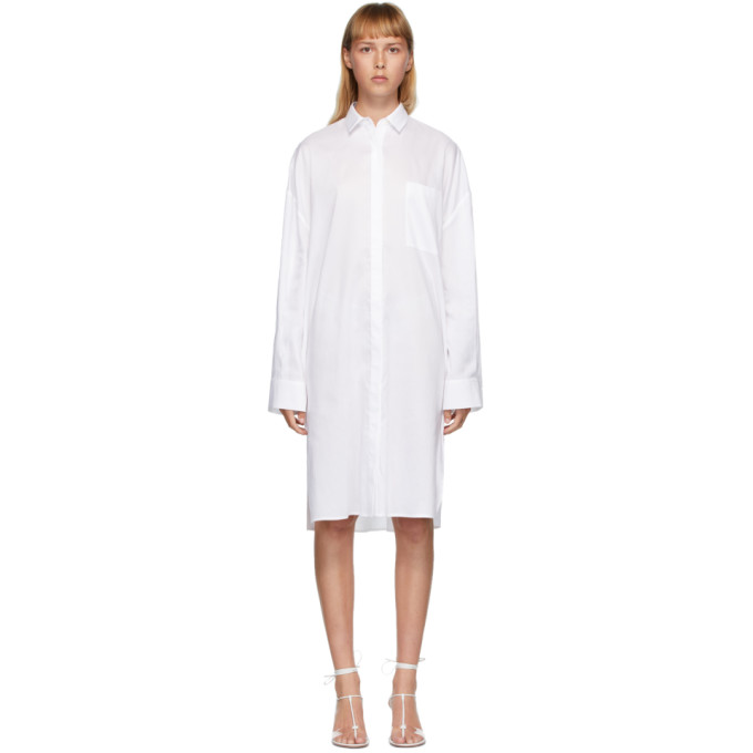 Toteme 白色 Pina 连衣裙