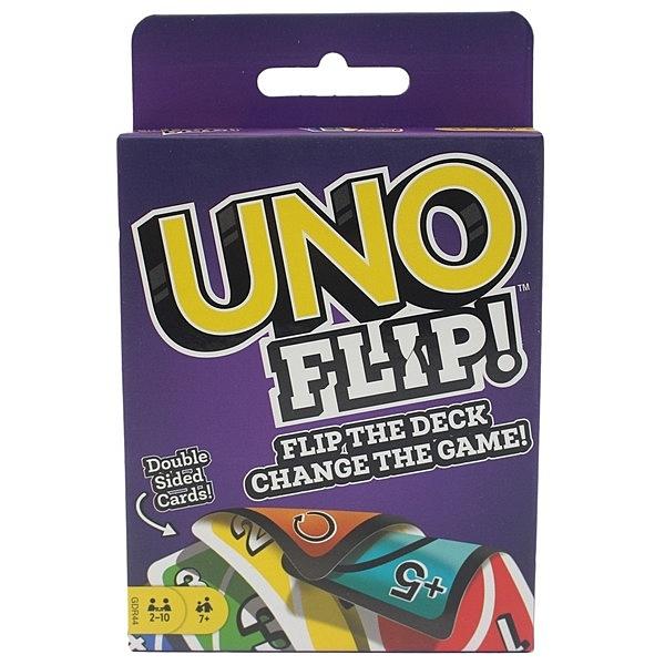 反轉UNO遊戲卡 (紫盒)正版授權/一盒入(特299) UNO卡-亞M75106