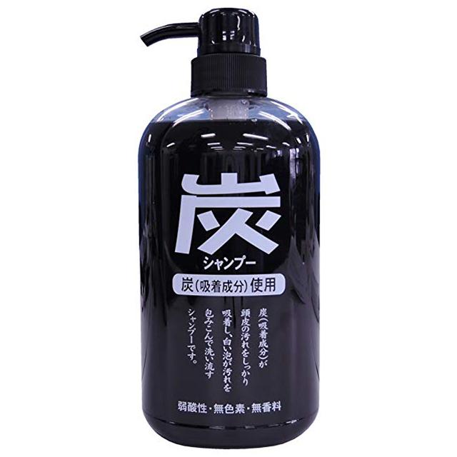 日本【純藥】炭洗髮精