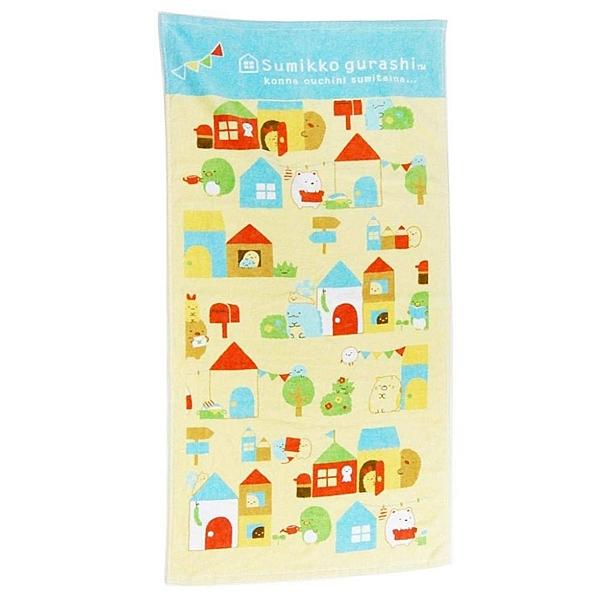【震撼精品百貨】角落生物 Sumikko Gurashi~角落生物 小浴巾 毛巾(50X100CM)#17771