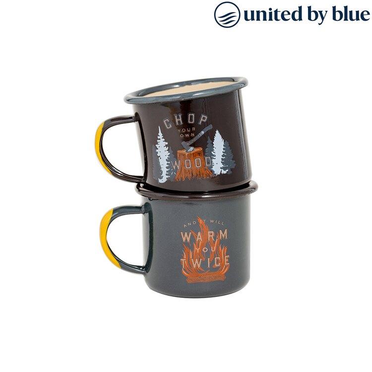 United by Blue 琺瑯馬克杯組 城市綠洲 / (保溫、琺瑯、溫冷飲、旅行、馬克杯)