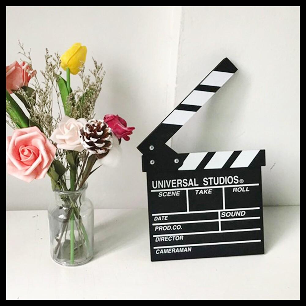 現貨導演板 電影拍板 打板 場記板 拍照道具 留言板 開麥拉  電影 拍片氣球快易送