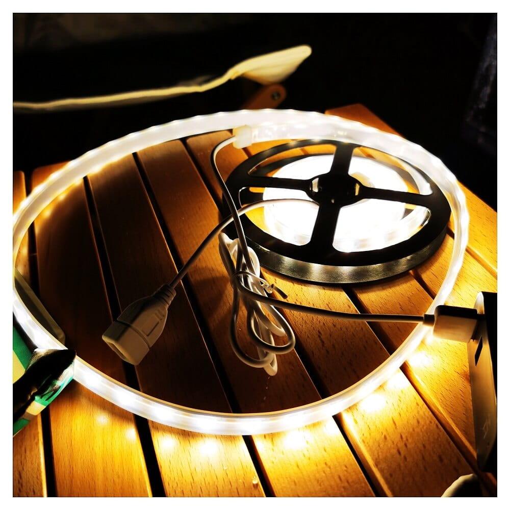 露營燈LED多功能防水帳篷天幕燈帶多種顏色VIDALIDO