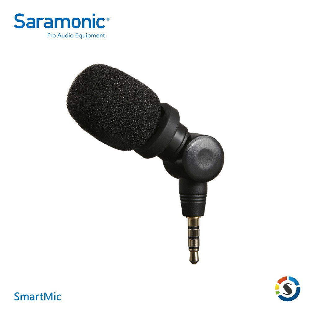 Saramonic楓笛 SmartMic 智慧型手機麥克風