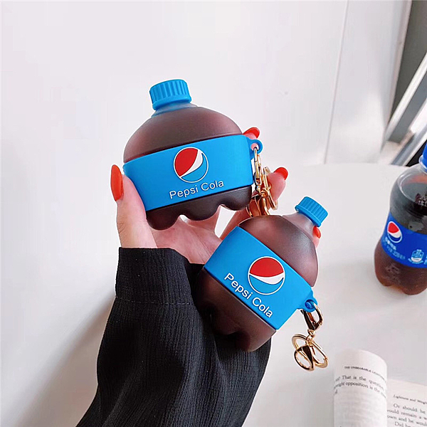 Airpods Pro 專用 1/2代 台灣發貨 [ 百事可樂 ] 藍芽耳機保護套 蘋果無線耳機保護