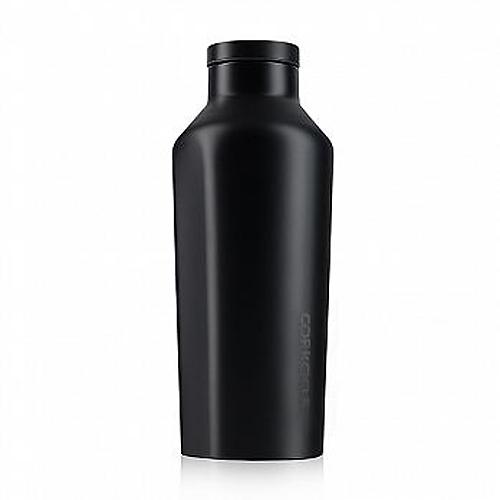 【25小時保冷 12小時保溫】270ml 美國 CORKCICLE 酷仕客 Dipped系列三層真空易口瓶(隕石黑) 304不鏽鋼 水瓶 熱賣中!