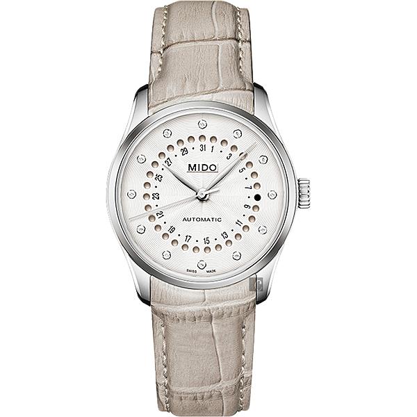 MIDO 美度 Belluna 日期窗機械女錶-33mm M0242071603600