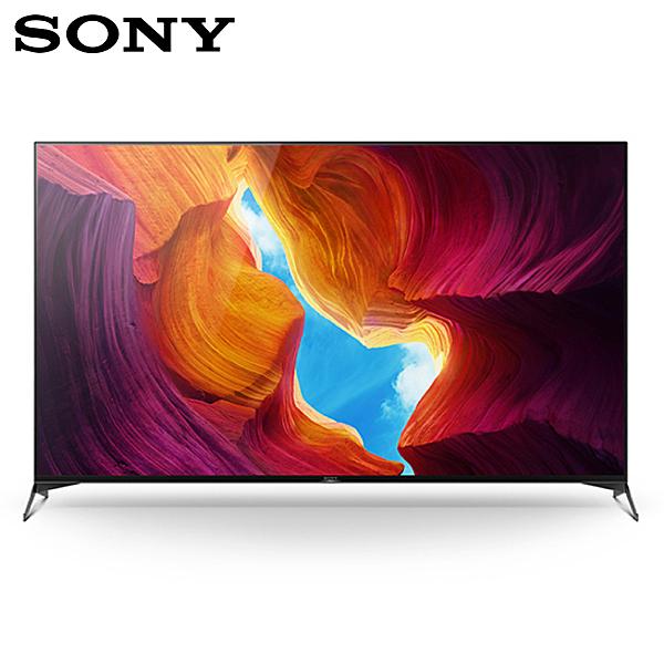 台北音響店推薦SONY KD-75X9500H 75吋4K HDR聯網液晶電視 公司貨保固2年 另有KD-55X9500H
