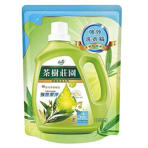 茶樹莊園 濃縮酵素洗衣精補充包1300g【愛買】