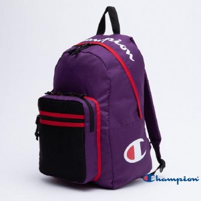 Champion Logo後背包 紫色