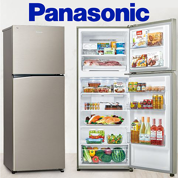 Panasonic 國際牌366公升 雙門冰箱 鋼板系列 NR-B370TV【公司貨保固+免運】
