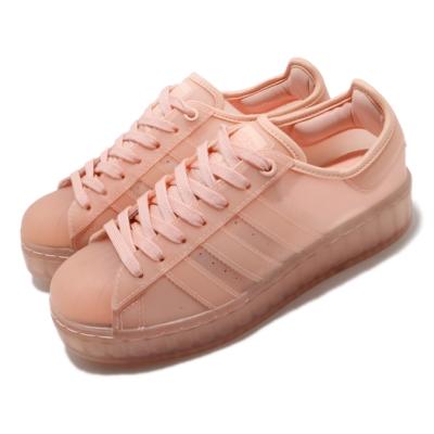 adidas 休閒鞋 Superstar Jelly 流行 女鞋 愛迪達 三葉草 貝殼頭 果凍鞋 穿搭 粉 FX2988