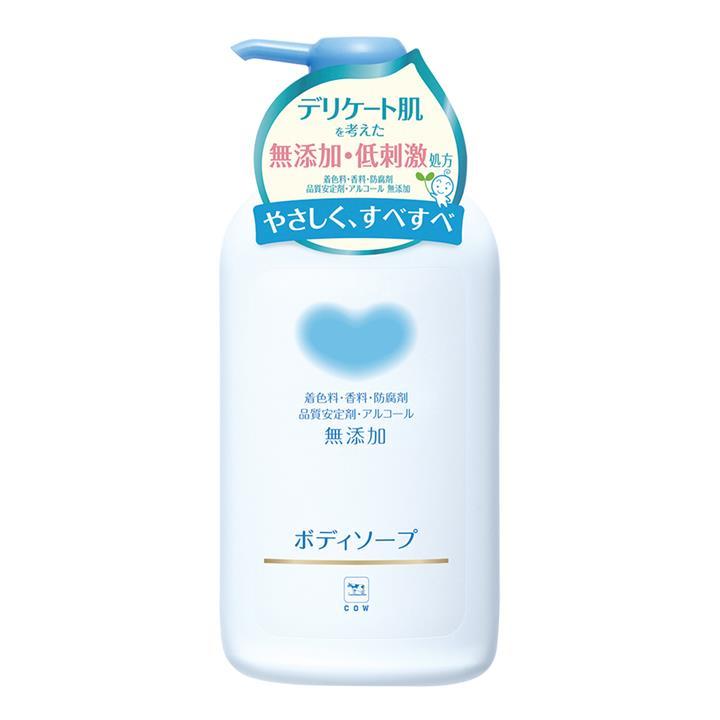 牛乳石鹼 植物性無添加沐浴乳 550毫升
