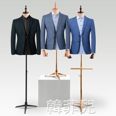 模特道具 男模特道具半身全身模特道具男櫥窗西服假人臺展示架男裝店模特架