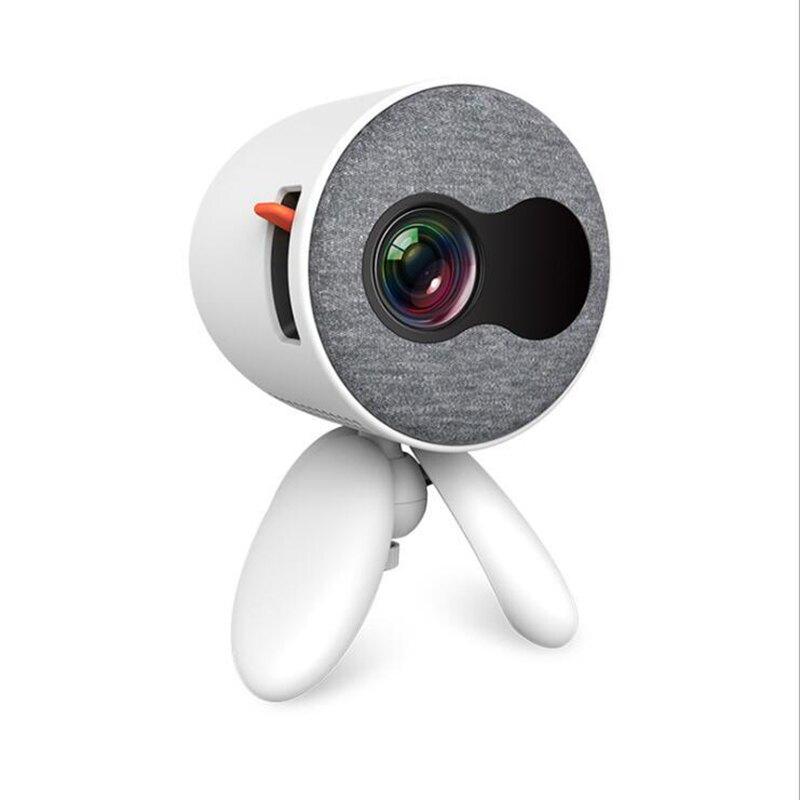 小型兒童投影儀 手機同屏投墻看動畫片電影宿舍臥室 家用投影