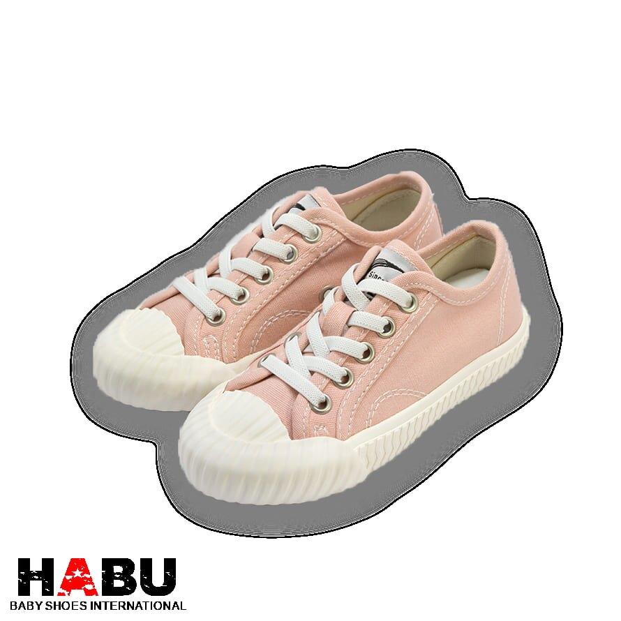 HABU哈布童鞋 粉色經典餅乾鞋(親子中童款)KK66-PI