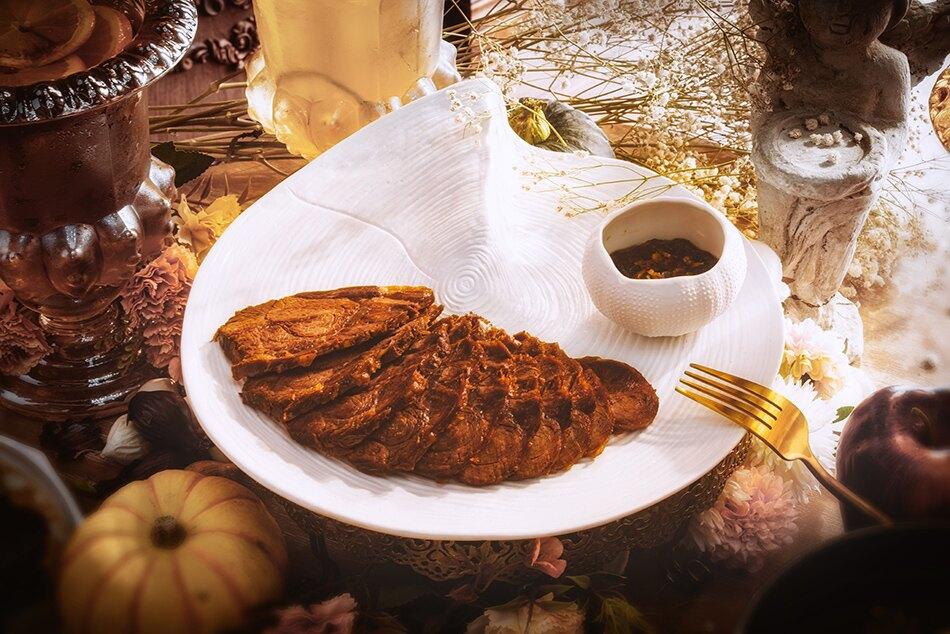 老滷汁煙燻板腱 真空料理包 2-3人份 料理包 即食包 上班族 簡單料理