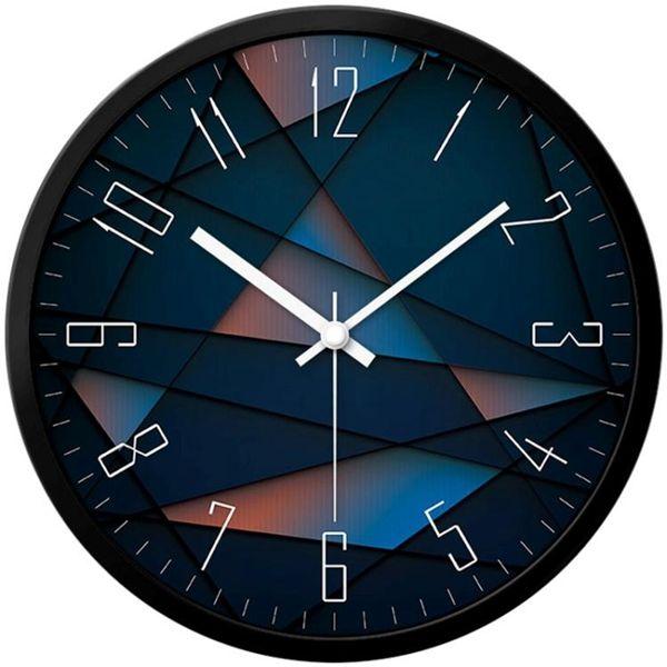 鐘表客廳創意現代時鐘石英鐘表掛表臥室靜音個性大號壁鐘
