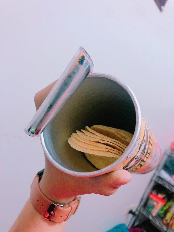 銅板價零售❤️期間限定!品客 油蔥肉燥洋芋片 110g/罐 洋芋片 薯片