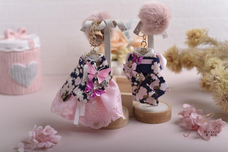 【Minerva】日本燙金布 和服 包包吊飾