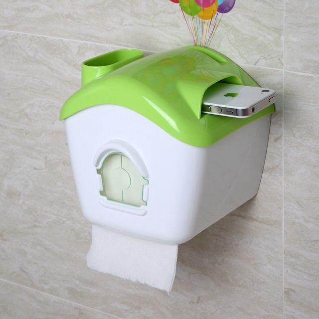 衛生紙架紙巾盒吸盤式廁所手紙盒創意衛生紙廁紙架防水捲紙筒免打孔