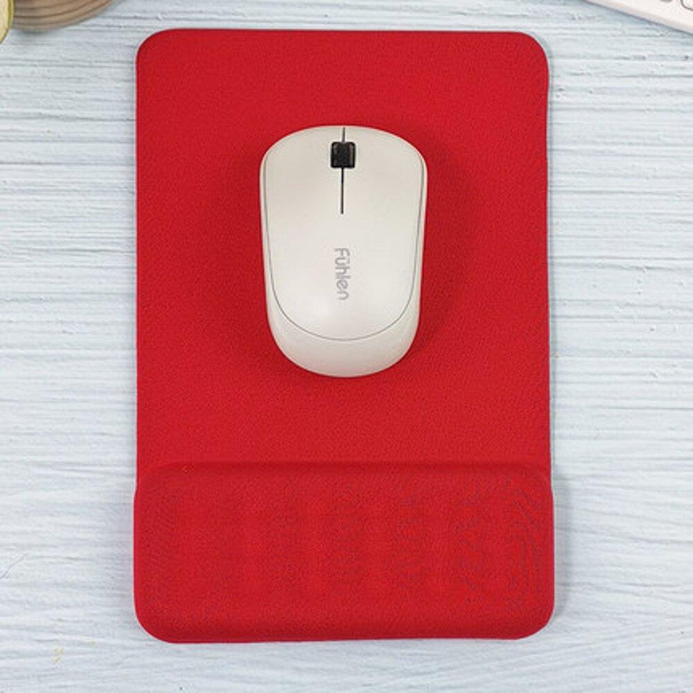 滑鼠墊 護腕創意記憶硅膠辦公手枕滑鼠手托3D手腕墊滑鼠墊小號簡約加厚立體滑鼠墊