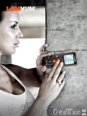 測距儀 龍韻激光測距儀高精度紅外線測量儀手持距離量房儀激光尺電子尺子