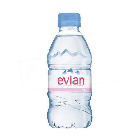 愛維養 Evian 礦泉水 330mlX24瓶 礦泉水 瓶裝水