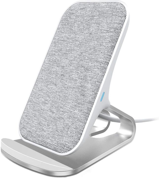 【日本代購】無線充電器 Lecone 10W 快速無線充電器 銀色