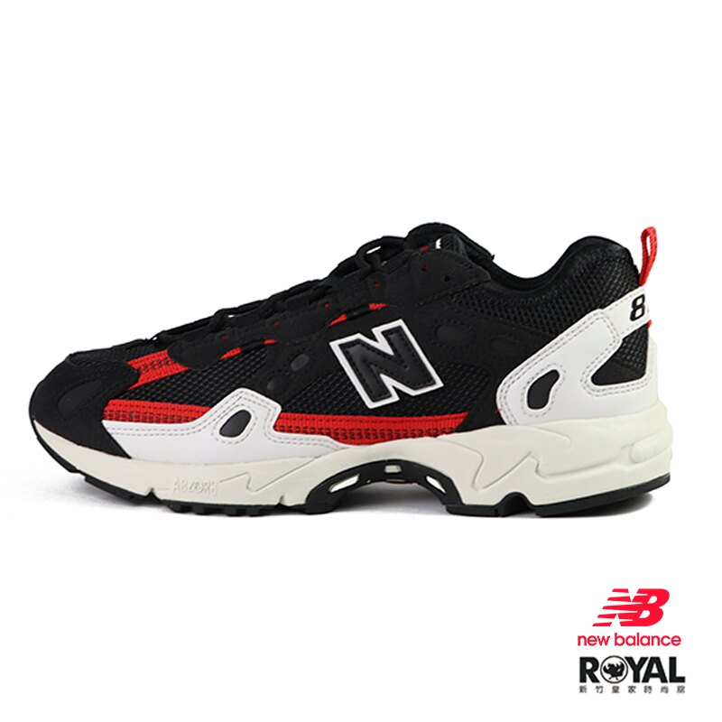 【滿額領券折$150】New balance 827 黑色 麂皮 休閒運動鞋 男款 NO.B1508【新竹皇家 ML827AAL】