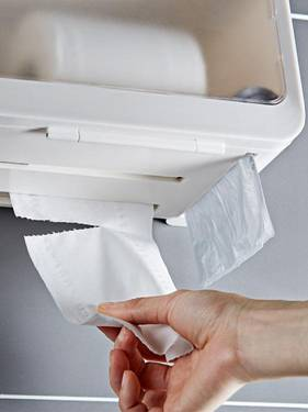 紓困振興  衛生間紙巾盒廁所洗手間免打孔家用置物架浴室衛生紙抽紙捲紙