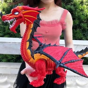 玩具遙控恐龍玩具電動會走路下蛋霸王龍仿真動物模型兒童玩具男孩 YXS