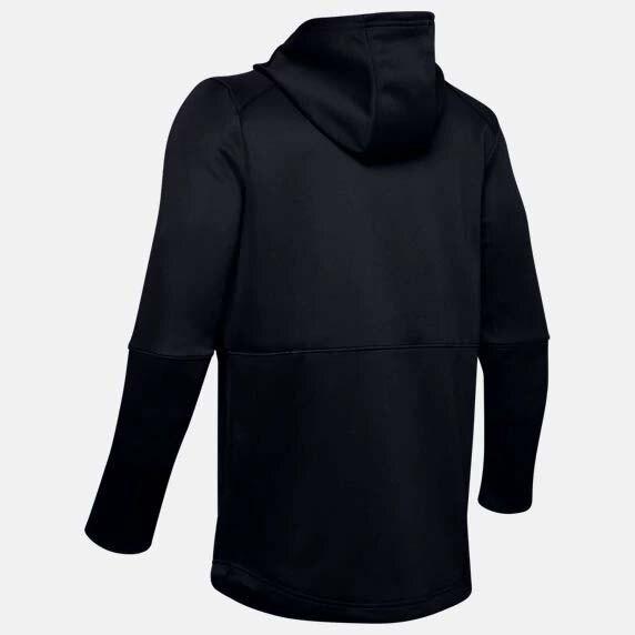 【滿額最高折$518】Under Armour UA MK-1 Warm-Up 男裝 外套 連帽 拉鍊 口袋 透氣 訓練 休閒 黑【運動世界】1345259-001